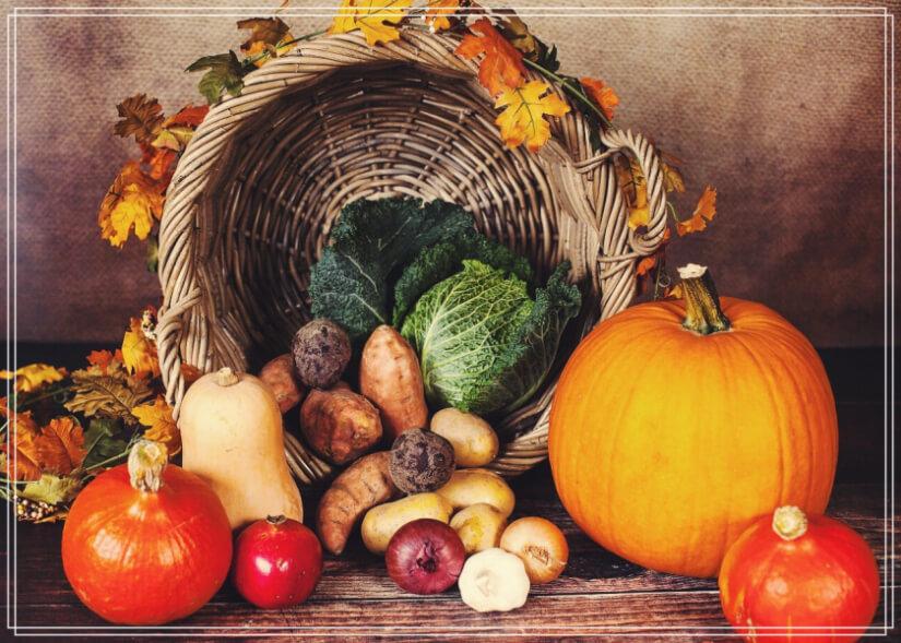 hortalizas del otoño