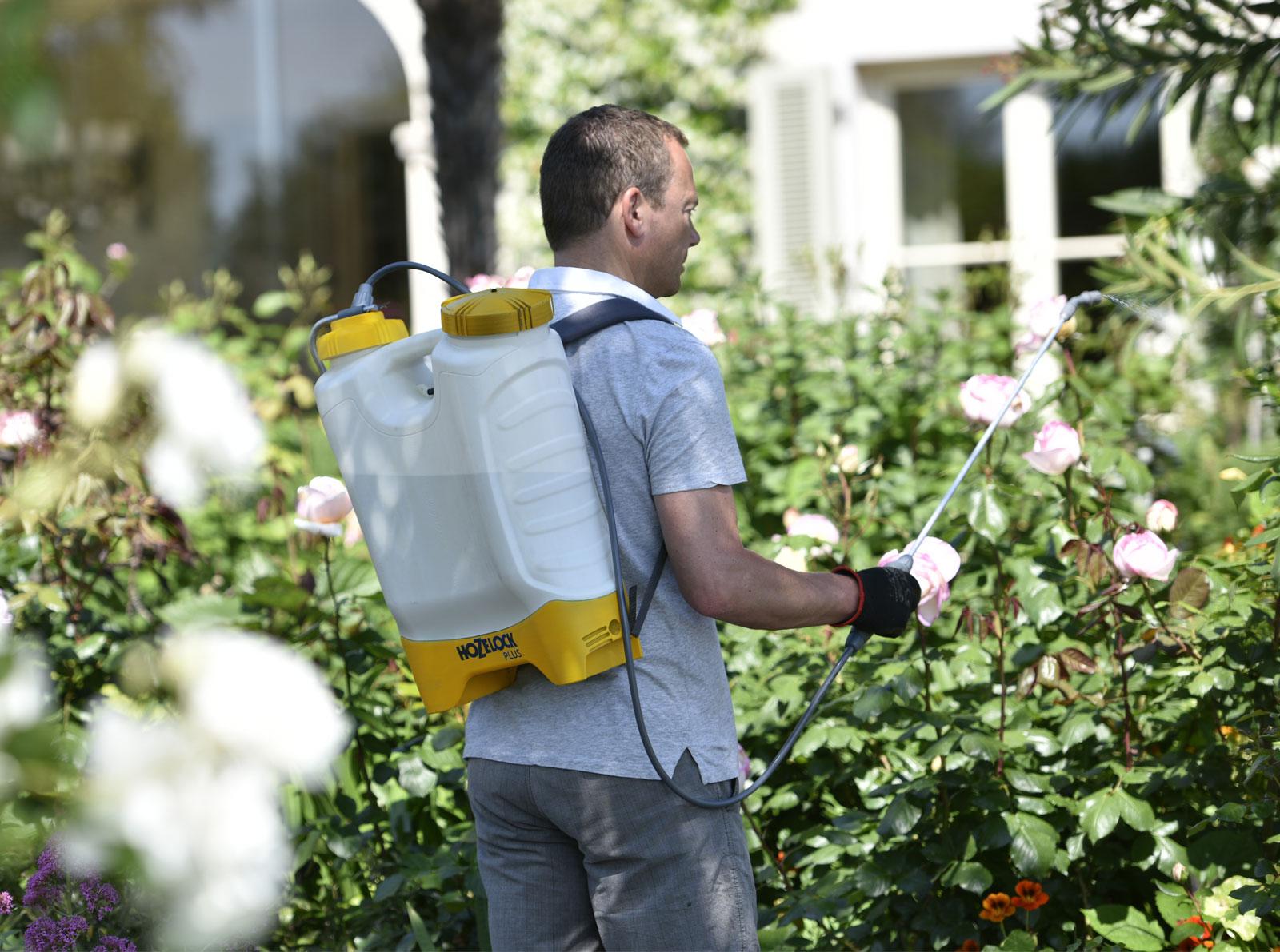 Pulverizador para plantas hozelock