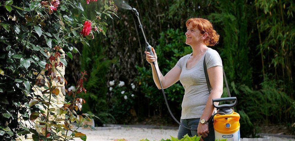 Productos Jardín Boquilla multi-chorro 3 en 1 Hozelock
