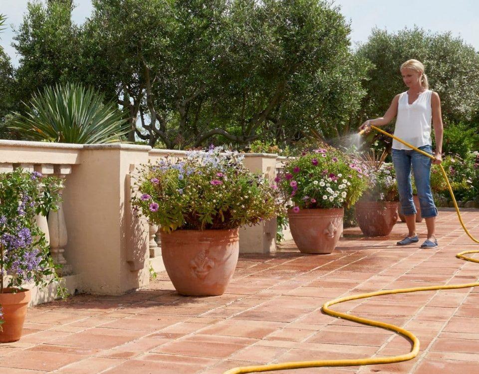 que sistema de riego utilizar en verano